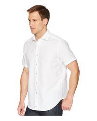 Robert Graham - White Cyprus Short Sleeve Woven Shirt for Men - Lyst