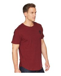 Timberland - Red Short Sleeve Back Graphic Tee for Men - Lyst