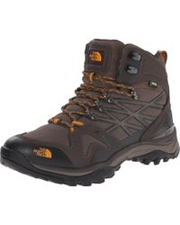 The North Face Hedgehog Fastpack Mid Gore-tex Hiking Shoe Shroom Brown/orange Size 9 M Us for men