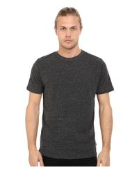 Threads For Thought - Black Baseline Tri-blend Crew Tee for Men - Lyst