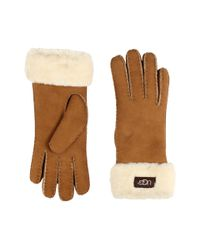Ugg | Brown Classic Turn Cuff Glove | Lyst