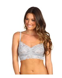 Cosabella | Gray Never Say Never Sweetie Soft Bra Never1301 | Lyst