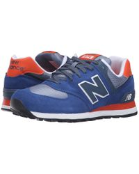 New Balance - Red Ml574 for Men - Lyst