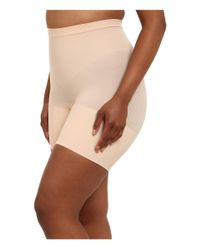 Spanx - Natural Plus Size Power Shorts - Lyst