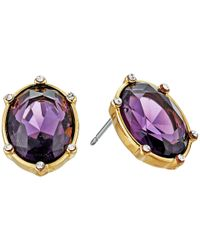 Lauren by Ralph Lauren - Multicolor Stone Post Earrings - Lyst