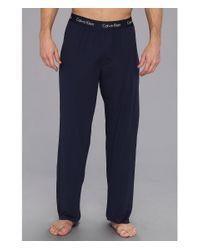 Calvin Klein | Blue Micro Modal Pant | Lyst