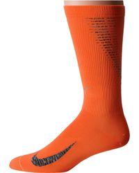 Nike - Orange Elite Run Lightweight 2.0 Crew for Men - Lyst