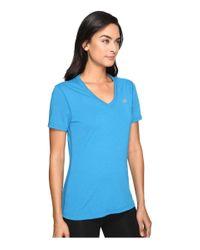Adidas Originals - Blue Ultimate S/s V-neck Tee - Lyst