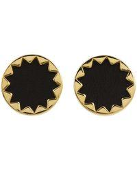 House of Harlow 1960 | Metallic Sunburst Button Earrings | Lyst