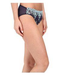 Wacoal - Gray Embrace Lace Bikini - Lyst