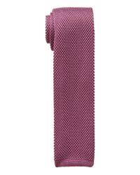 Lauren by Ralph Lauren - Silk Knit Tie (pink) Ties for Men - Lyst
