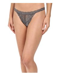 Natori - Multicolor Feathers Thong - Lyst