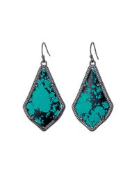 Kendra Scott - Blue Alex Earring - Lyst