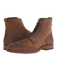 Frye | Brown Everett Lace Up for Men | Lyst