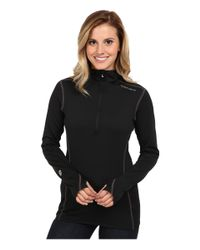 Hot Chillys - Black Micro-elite Chamois 8k Hooded Zip - Lyst