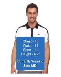 Nike - Black Team Court Polo for Men - Lyst