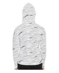 PUMA - Gray Lightweight Pullover Top - Lyst