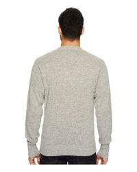 Pendleton | Gray Shetland Crew Sweater for Men | Lyst