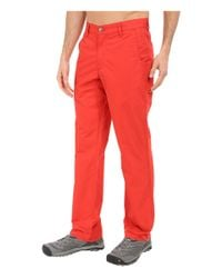 Mountain Khakis - Green Broadway Fit Poplin Pant for Men - Lyst