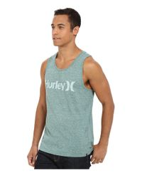 Hurley - Blue One & Only Tri-blend Tank for Men - Lyst