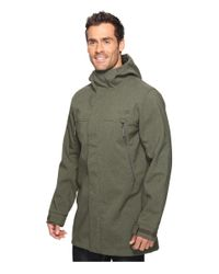 The North Face - Green Apex Bionic Trench Coat for Men - Lyst