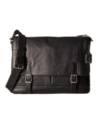 Frye | Black Oliver Messenger for Men | Lyst