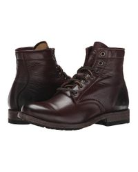 Frye | Brown Tyler Lace Up | Lyst