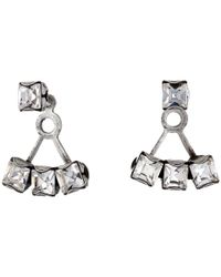 DANNIJO | Metallic Donna Ear Jacket Earrings | Lyst