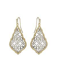 Kendra Scott | Metallic Addie Earrings | Lyst