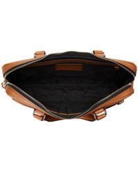 COACH - Black Crossgrain Hudson 5 Bag for Men - Lyst