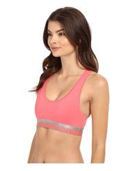 Calvin Klein - Pink Magnetic Force Bralette - Lyst