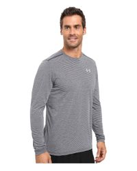 Under Armour - Blue Ua Streaker Longsleeve Tee for Men - Lyst