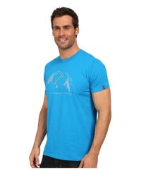 Arc'teryx - Blue 3 Peaks Short Sleeve Crew for Men - Lyst