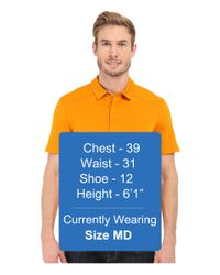 Arc'teryx - Yellow Chilco Short Sleeve Polo for Men - Lyst