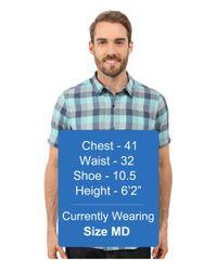 Icebreaker - Blue Departure Ii Short Sleeve Shirt Plaid for Men - Lyst