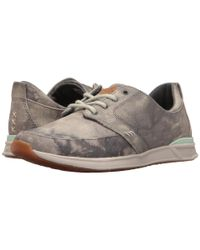 Reef | Gray Rover Low Tx for Men | Lyst