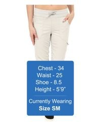 The North Face - Natural Aphrodite Capris - Lyst