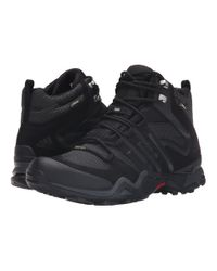 Adidas Originals | Black Fast X High Gtx® for Men | Lyst