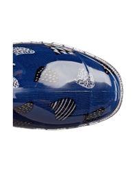 TOMS - Blue Cabrilla Rain Boot - Lyst