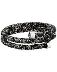 Swarovski - Multicolor Crystaldust Bangle Bracelet - Lyst