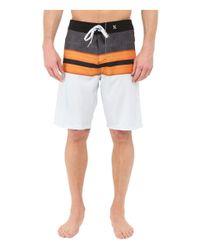"""Hurley - White Phantom Density 21"""" Boardshorts for Men - Lyst"""