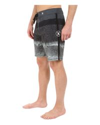 "Hurley - Black Phantom Tigris 19"" Boardshorts for Men - Lyst"