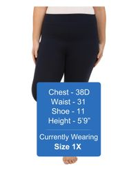 Yummie By Heather Thomson - Blue Plus Size Louise Leggings - Lyst