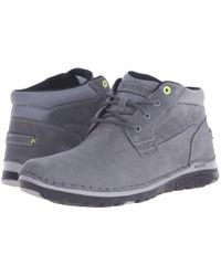 Rockport - Gray Zonecrush Rocsport Lite Plain Toe Boot for Men - Lyst