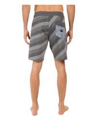 "Volcom - Multicolor Stripey Slinger 19"" Boardshorts for Men - Lyst"