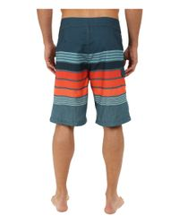"Billabong - Multicolor All Day Stripe 21"" Boardshorts for Men - Lyst"