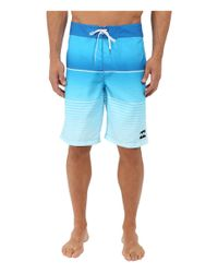 """Billabong - Multicolor All Day Faded 21"""" Boardshorts for Men - Lyst"""