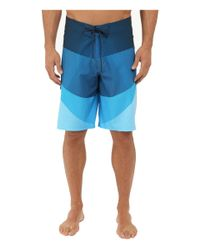 "Billabong - Blue Fluid X 21"" Boardshorts for Men - Lyst"