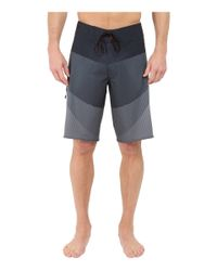 "Billabong - Black Fluid X 21"" Boardshorts for Men - Lyst"
