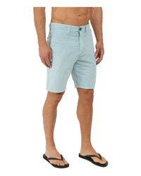 "Billabong - Blue New Order X 19"" Hybrid Shorts for Men - Lyst"